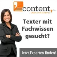 Jetzt Texter mit Branchenkenntnissen finden!