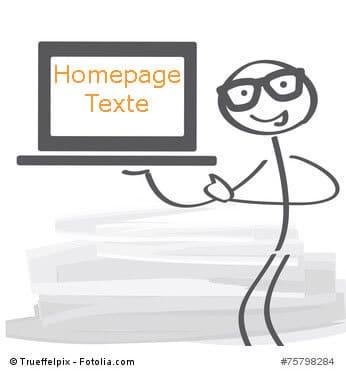 Homepage Texte kaufen bei content.de