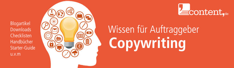 Lexikonbeitrag zum Thema Copywriting