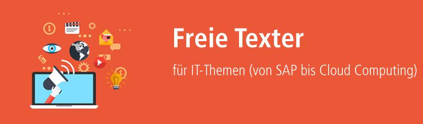 Texter für IT-Themen über content.de finden!