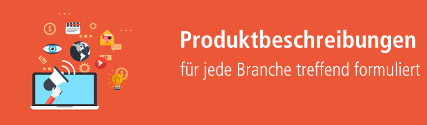 Produktbeschreibungen für Webshops kaufen - content.de
