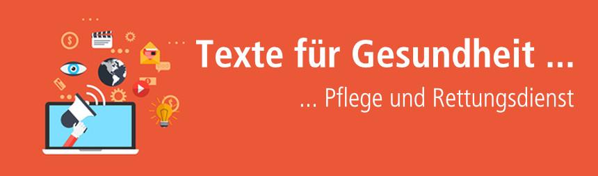 Texte für Gesundheits- und Pflegethemen über content.de schreiben lassen!